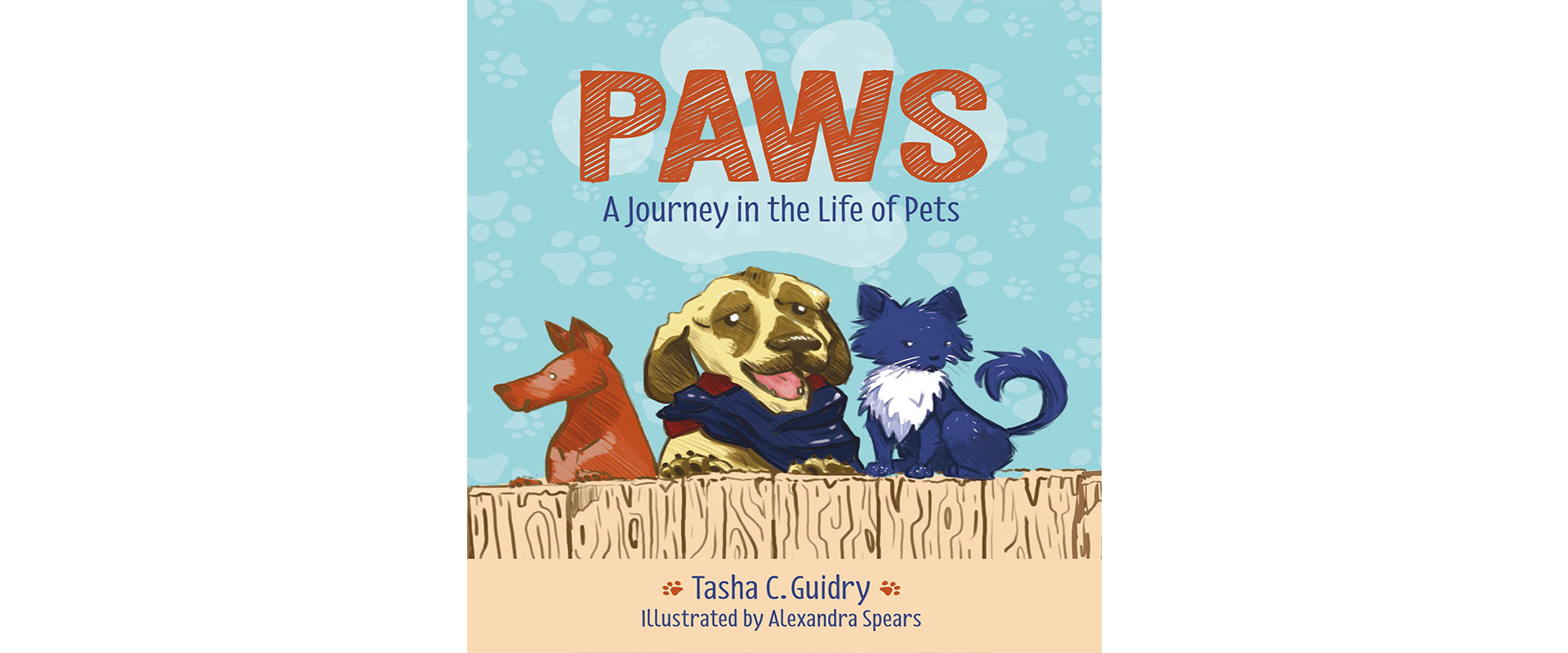 Cover of Paws: A journey in the life of pets