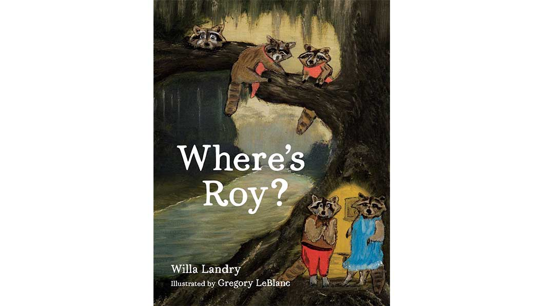 cover of where's roy book