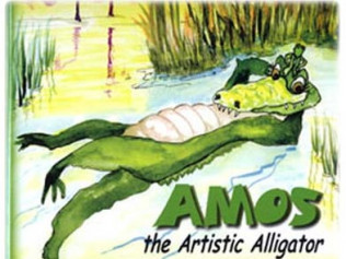 Amos the Artistic Alligator
